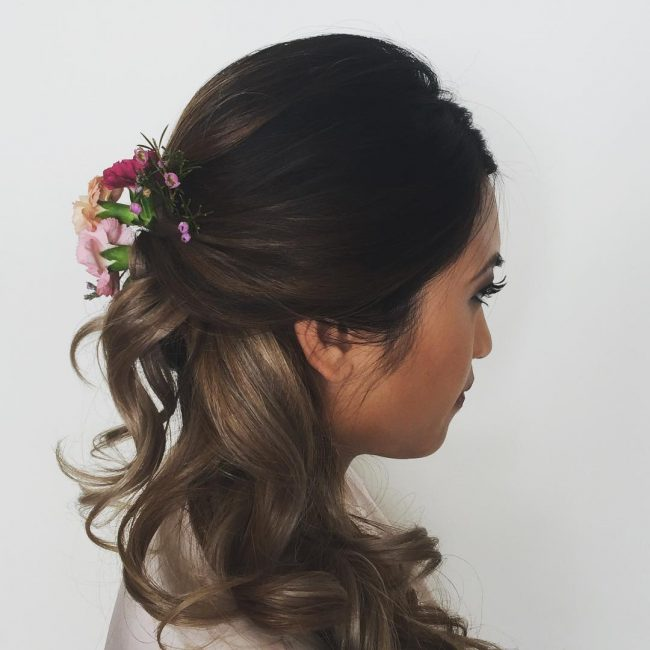 Fancy Bridal Upstyle