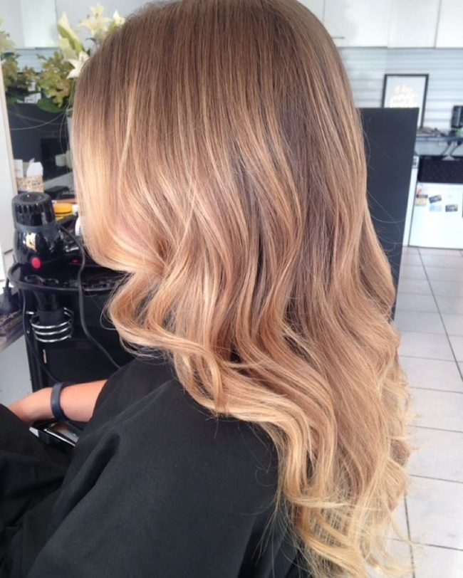 Fashionable Bronde Locks