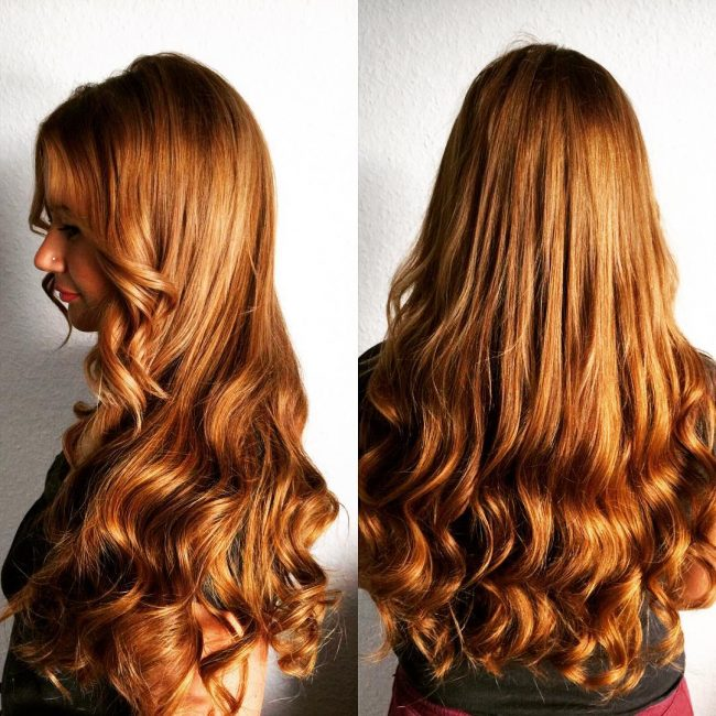 Fashionable Caramel Extension