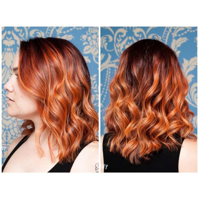 Fiery Ombre Color Melt