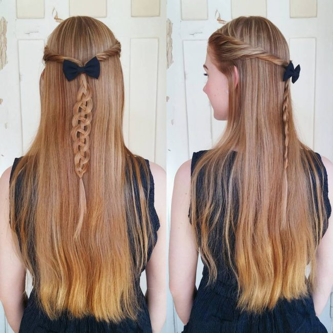 Four Strand Pull-Through Braid