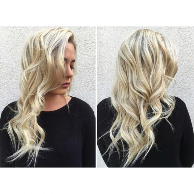 Gorgeous Blonde Waves