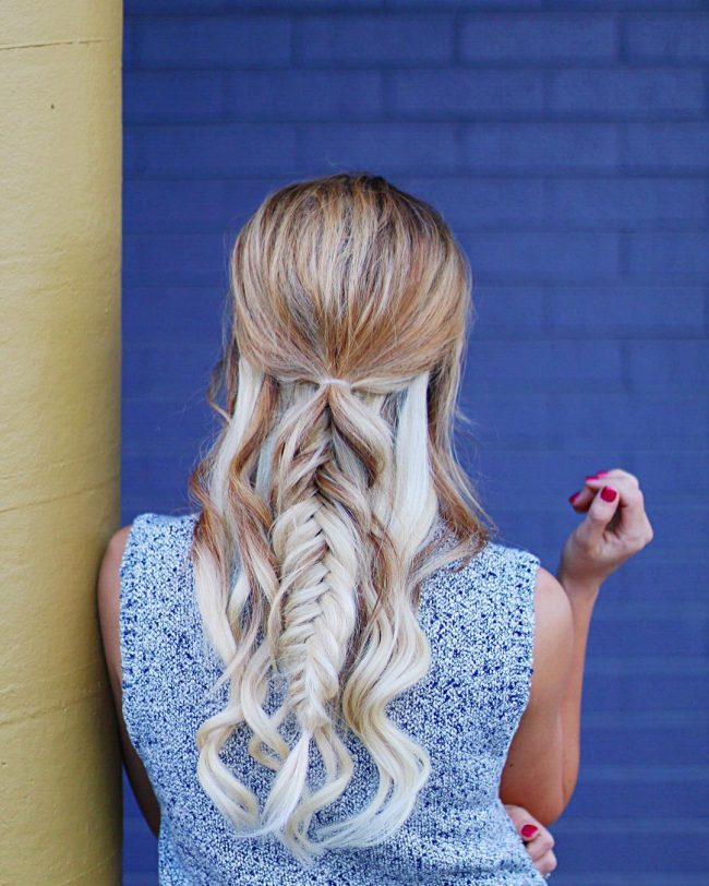 Gorgeous Pony Knot and Fishtail