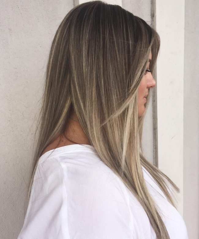 Highlight and Lowlight Balayage