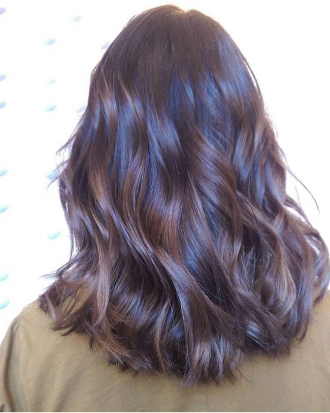 Hot Chocolate Balayage