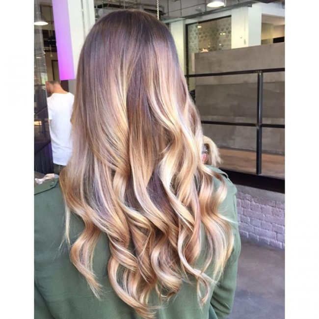 Icy and Stylish Balayage