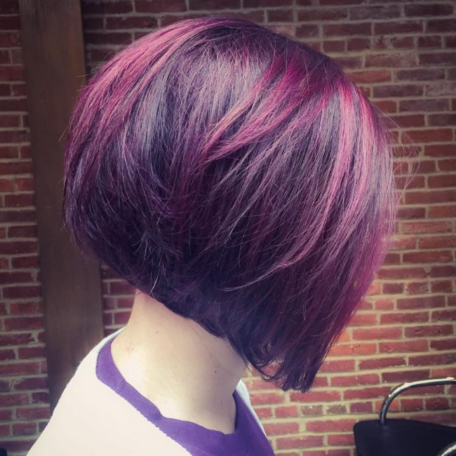 Inverted with Vibrant Violet Hue