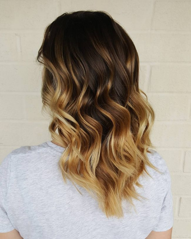 Long Ombre Beach Waves