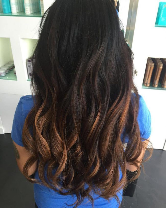 Long Ombre Layers