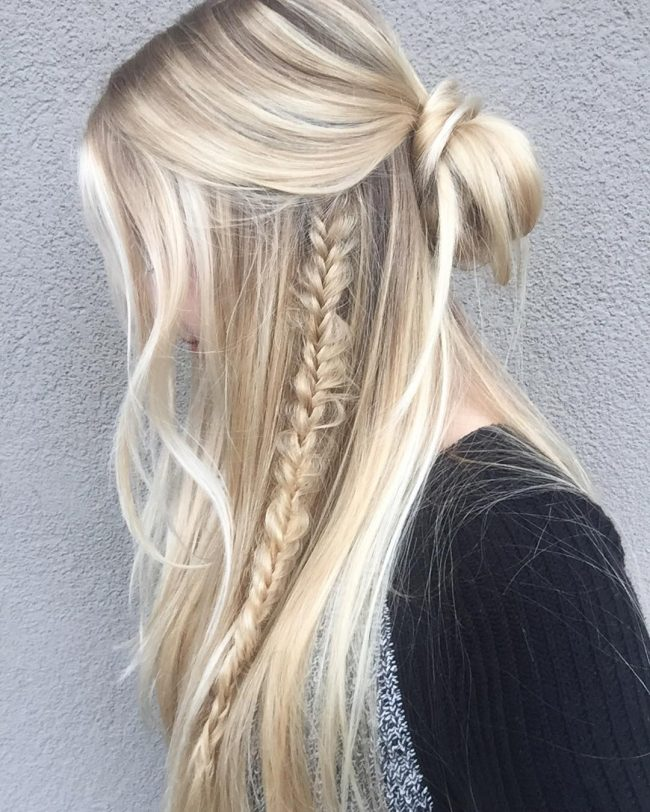 Loose Knot and a Fishtail