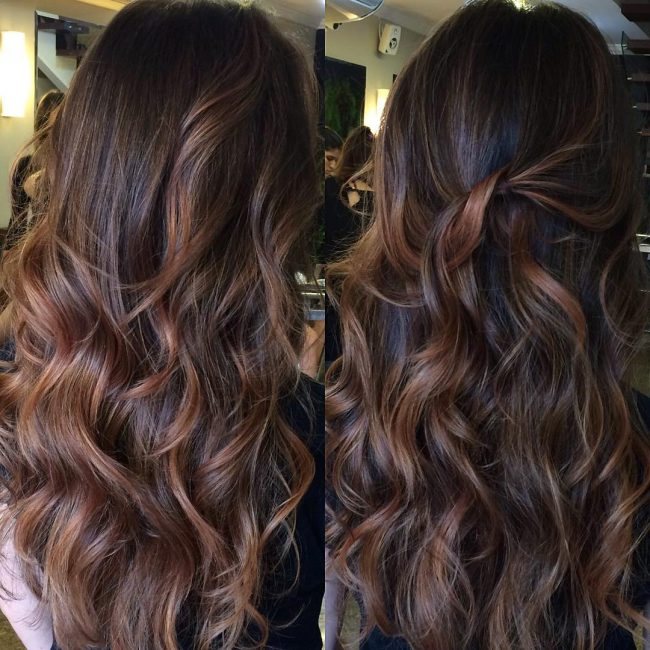 Loose and Messy Chocolate Waves