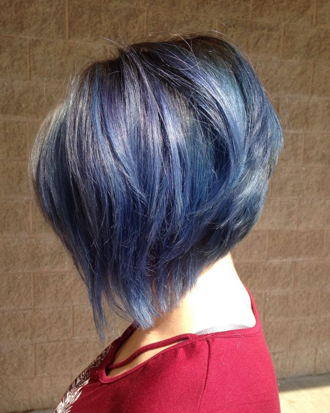 Magical Blue with Undercut