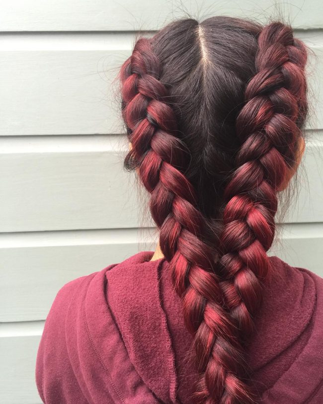 50 Awesome Maroon Hair Color Ideas Become A Headturner