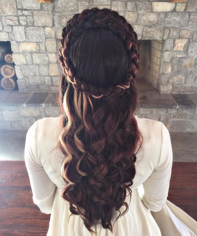 Medieval Crown Braids