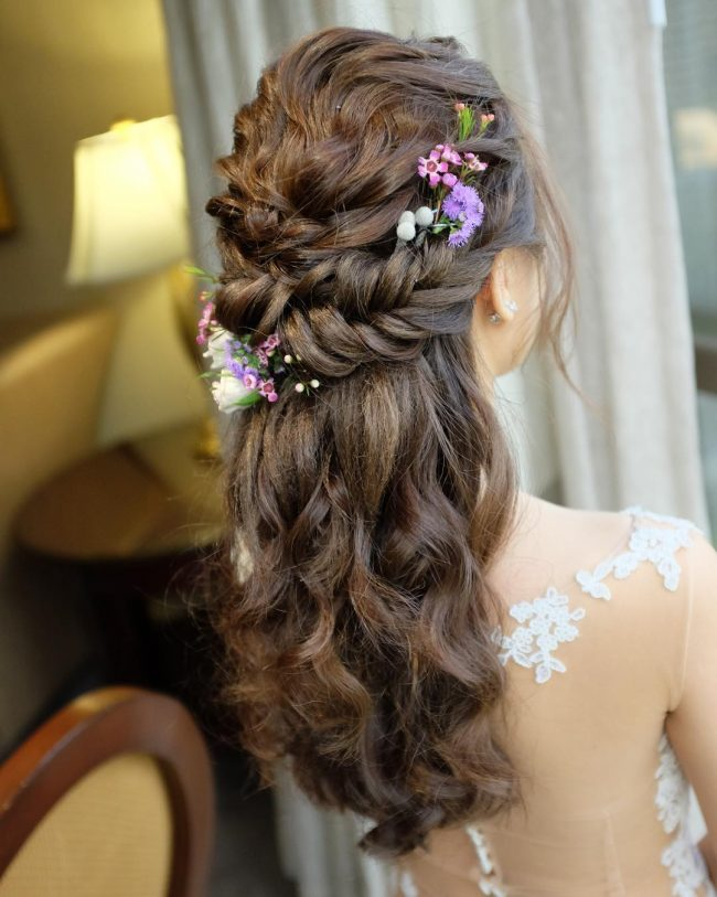 Messy Fishtail Elegance