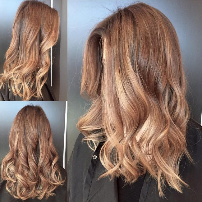 Natural Sun-Kissed Balayage Color Melt