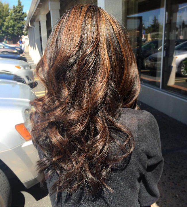 Partial Highlights on Virgin Hair