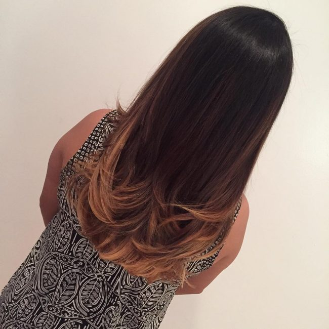 Polished Ombre Locks