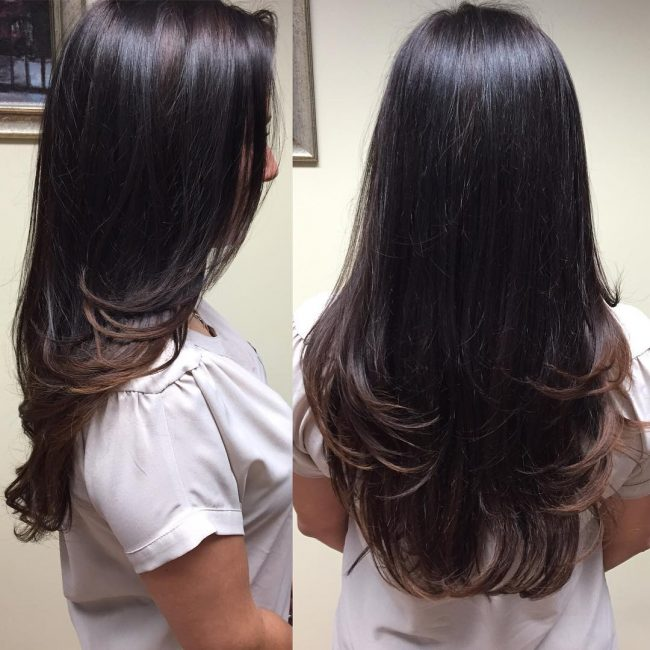 Round Layers for Blowout