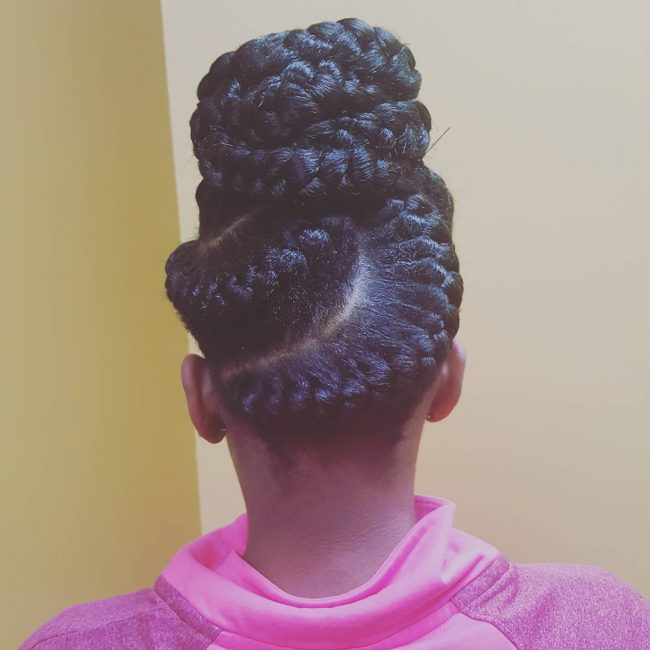 S-Shaped Faux Twist