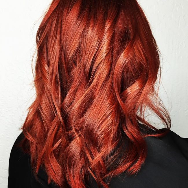 Sassy Red and Copper Perfection