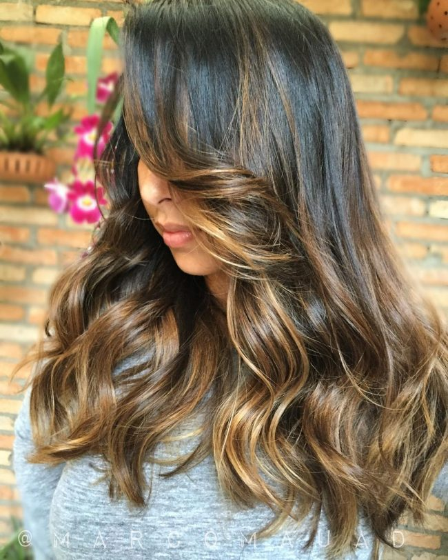 75 outstanding ombre hair ideas many colors and even blue 23 shadowy black and creamy caramel ombre urmus Image collections