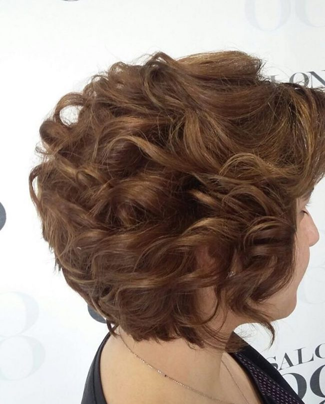 Short and Textured Curls