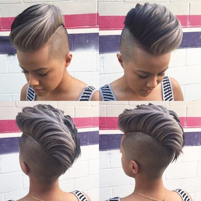 50 Awesome Undercut Hairstyles For Women: Catch The Trend
