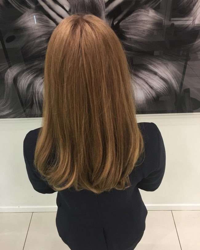 Smooth and Classy Bronde
