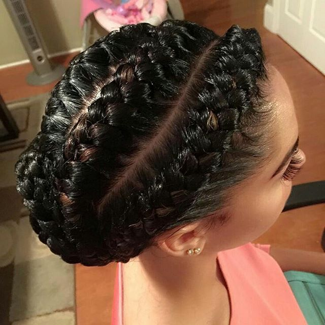 Smooth and Sexy Goddess Plaits