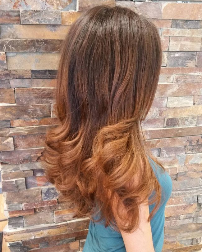 Soft Waves with Layered Ends