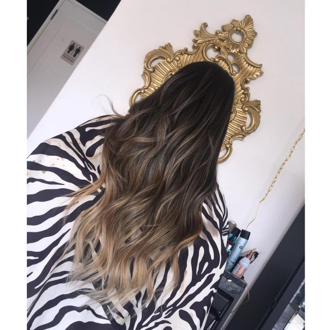 Soft and Shiny Ombre Tresses