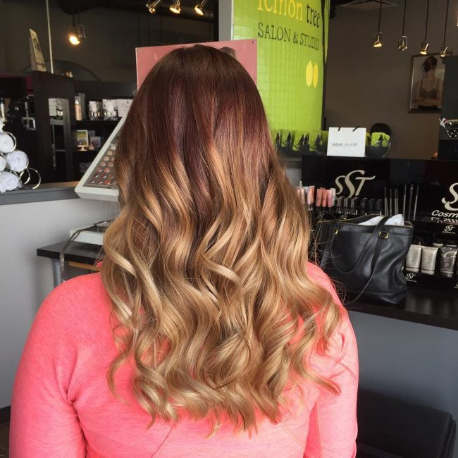 Sun-Kissed Chocolate Ombre