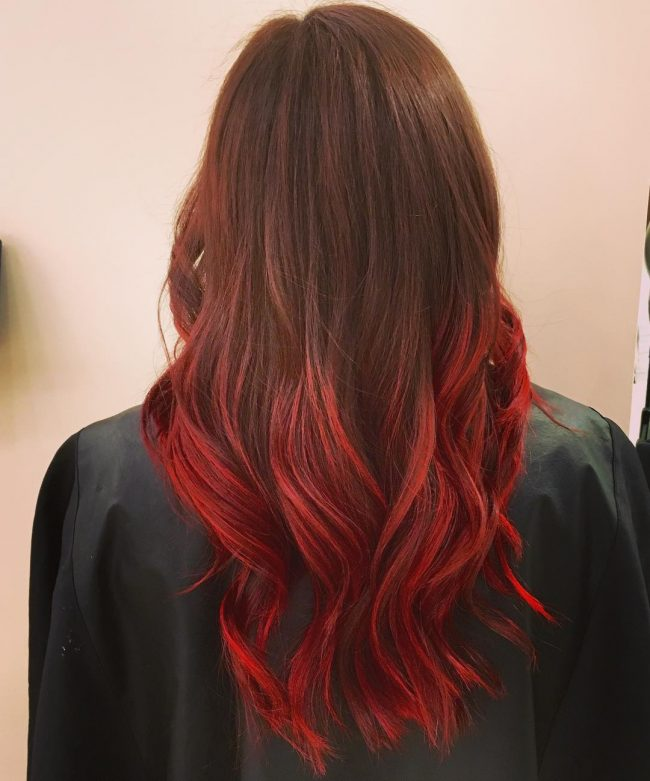 Sunset Curly Ombre