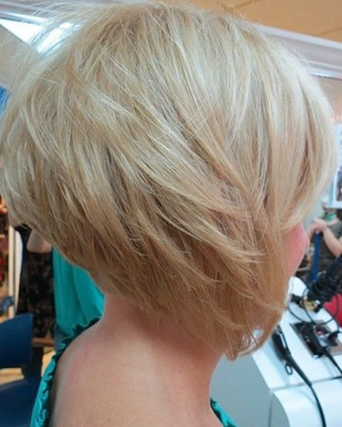 Tapered and Stacked Pixie Cut