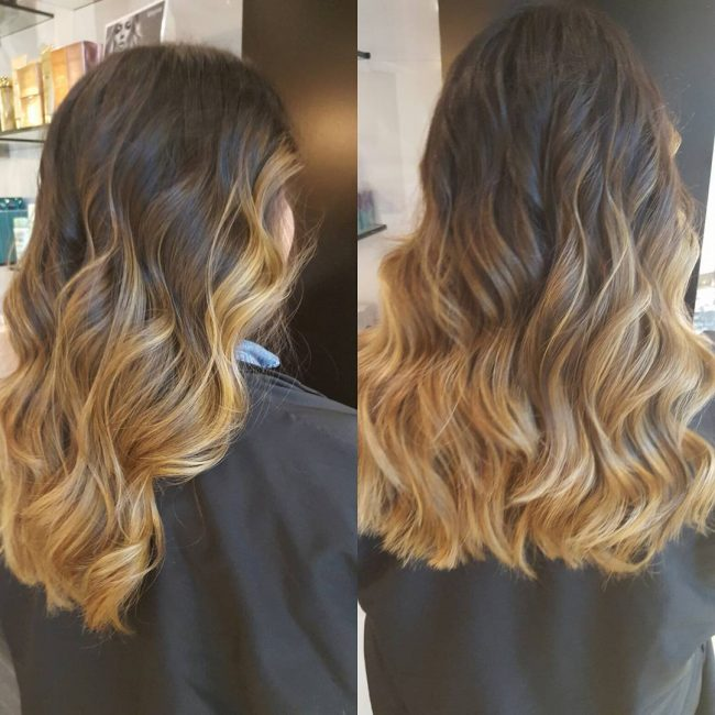 Textured and Layered Color Melt
