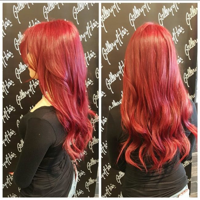 7 Stunning Mahogany Hair Color Inspiration And Ideas See More Dark Light Deep Colors With Highlights
