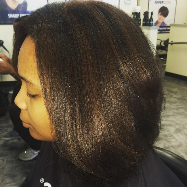 Voluminous Blowout with Highlights