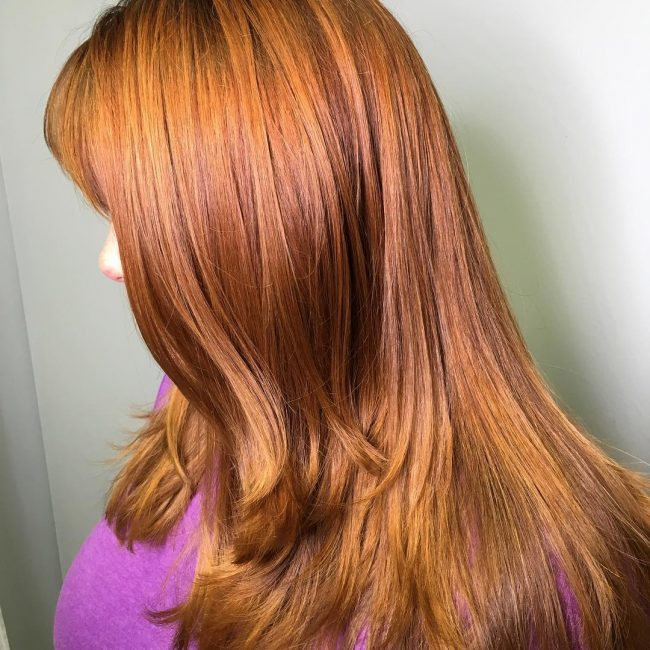 Adorable Copper and Gold Combination
