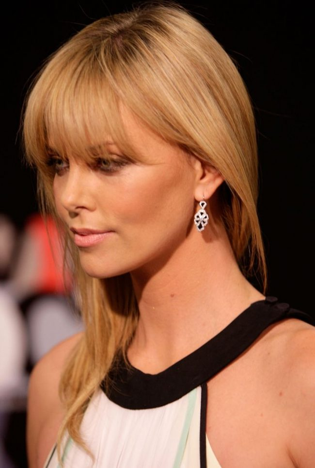 Arched Fringe with Bangs