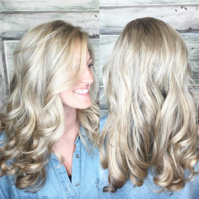 Balayage Blonde Sombre