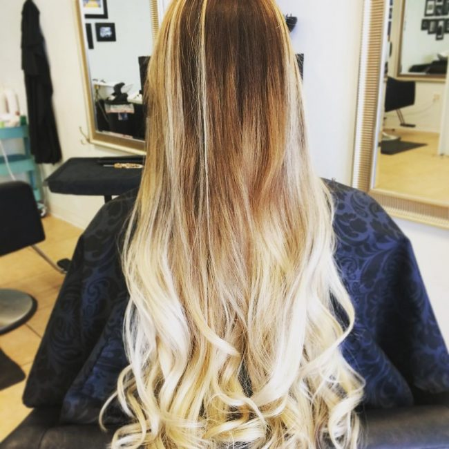 Blonde Ombre