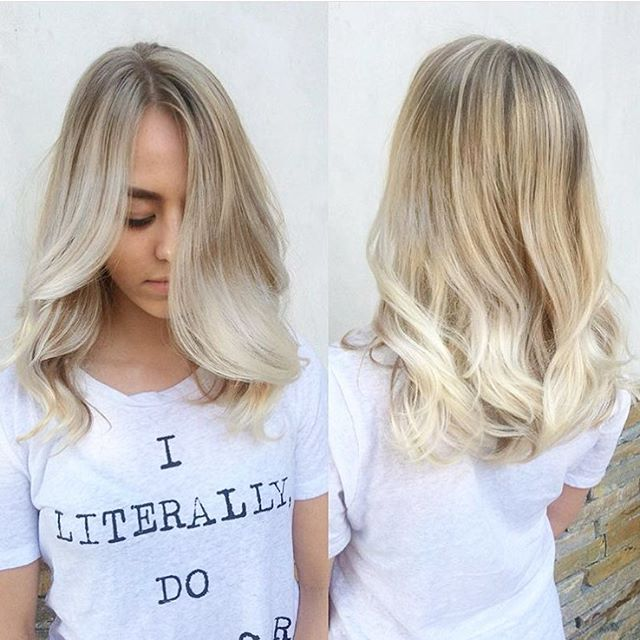 Blonde Waterfall