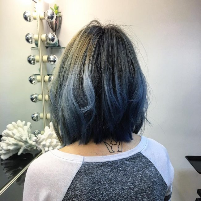 Blunt Blue Ombre