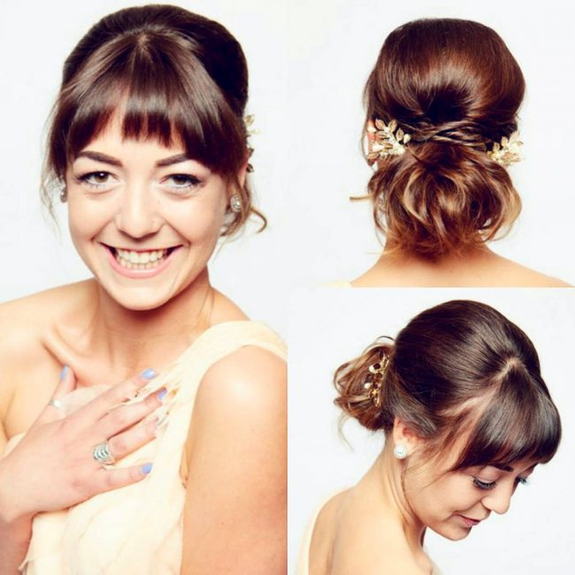 Wedding Hairstyles Fringe: Best Ideas For Your Big Day