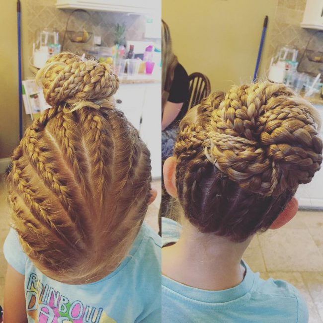 Brilliant Braid Bun
