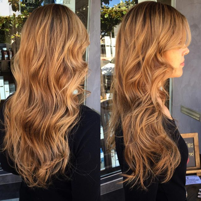 Bronde on Long Layered Tresses