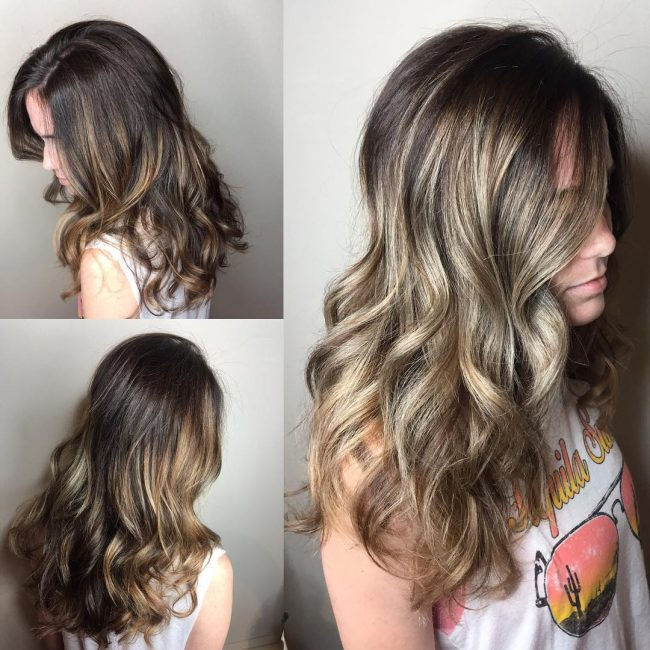 Bronzed Brown Ombre