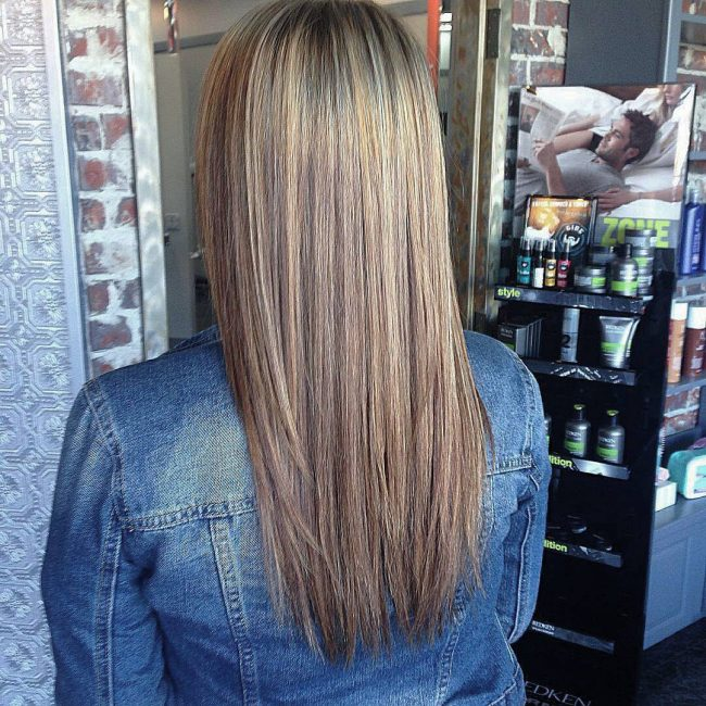 Brown and Blonde Blend