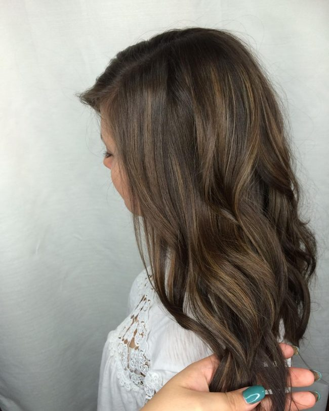 Brunette Beach Waves